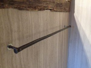 forged Towel bar