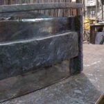 corner Detail during assembly